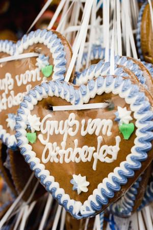 german lebkuchen hearts oktoberfest LANG_EVOIMAGES