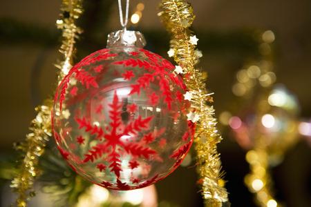 hung: Christmas tree decoration