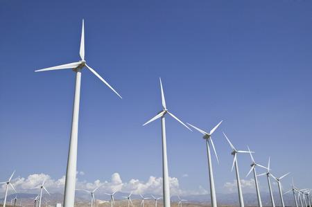 Wind turbine generators in California LANG_EVOIMAGES