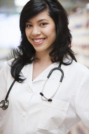 caregivers: Female Doctor smiling
