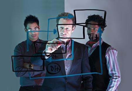 work path: A conceptual business brainstorm
