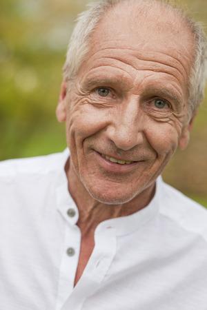 grays: old man smiling