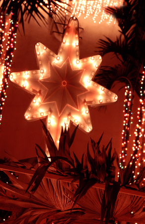 ornamentations: Star outdoor Christmas ornaments