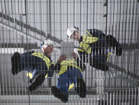 Port Workers Undergoing Training