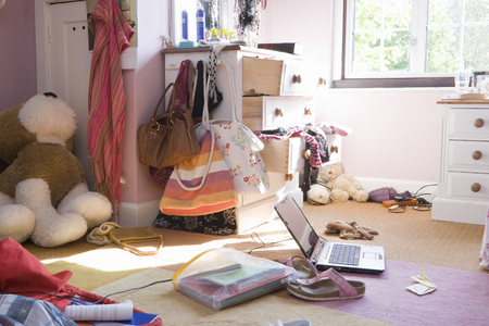pubescent: Messy room