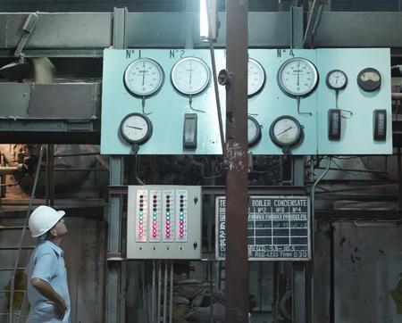 mans watch: Supervisor In Sugar Cane Factory LANG_EVOIMAGES