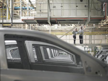 techniek: Auto Plantwerkers Waarnemende Auto's