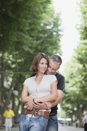 passions: couple embracing each other