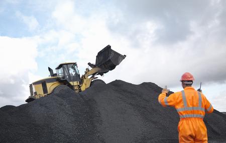 mined: Coal Miner Instructing Digger