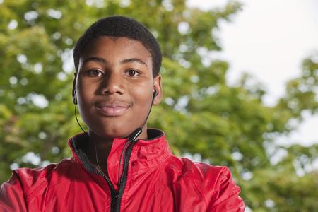 musically: Teenage Boy wearing headphones