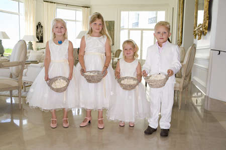 flowergirl: wedding children portrait