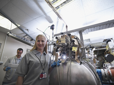 toils: Fusion Reactor Scientists At Work