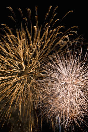 discharge time: fireworks by night