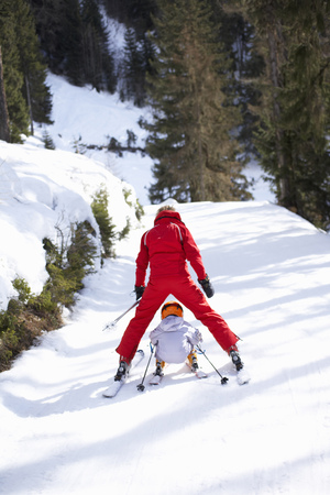forties: Ski Lesson