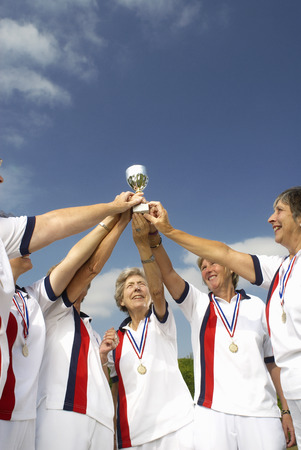 prevailing: women and trophy