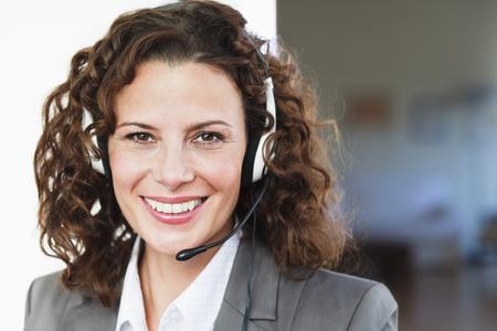 Female Call center Agent Portrait