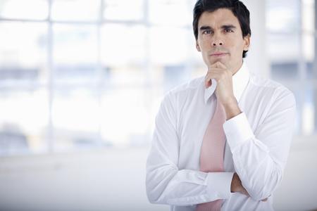 Young businessman starting enterprise LANG_EVOIMAGES