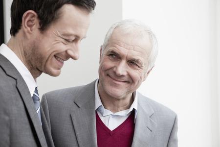 faiths: Businessmen talking