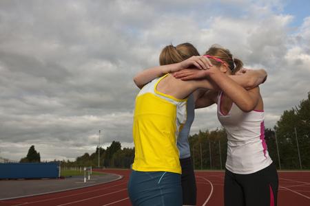 motivations: 3 female athletes embracing