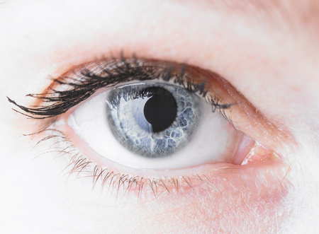 insights: Close up of a womans eye LANG_EVOIMAGES