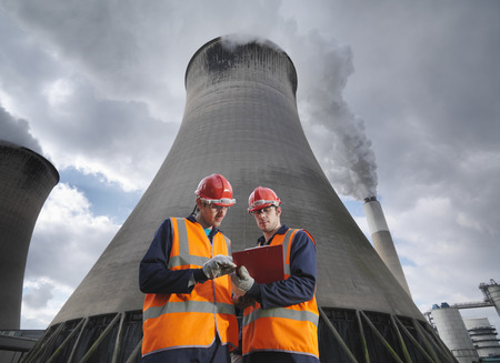 review: Workers At Coal Fired Power Station LANG_EVOIMAGES