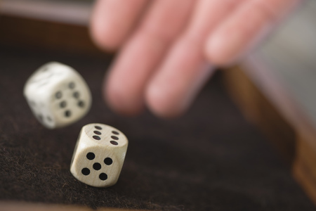 tosses: Playing dice
