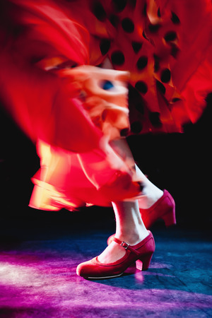 Flamenco feet dancing LANG_EVOIMAGES