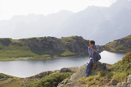 mountainous:  excursion to mountains