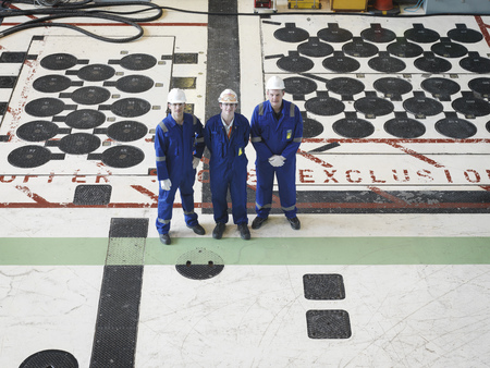 coveralls: Engineers in Charging Hall