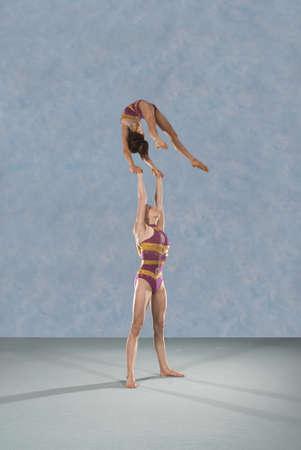 dressups: Acrobatic troop performing moves LANG_EVOIMAGES