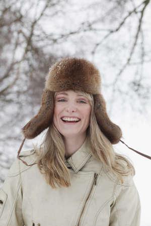 furs: Woman Portrait LANG_EVOIMAGES