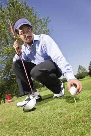 sabotage: Putting an egg on the tee