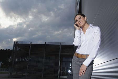 acknowledging: Businesswoman