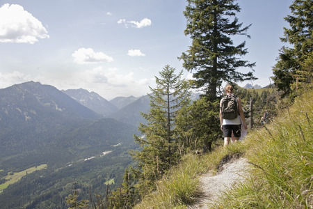 remoteness: Hiking the trails through the mountains