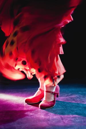 sexual intimacy: Flamenco feet