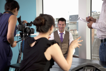 interrogations: Video interview of businessman