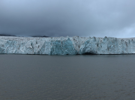 stormy waters: Svalbard landscape LANG_EVOIMAGES