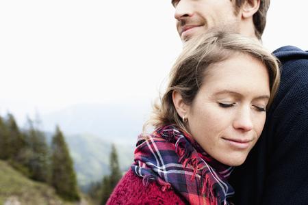 truelove: Couple cuddling