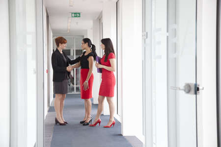 corridors: Boss congratulates colleagues in office