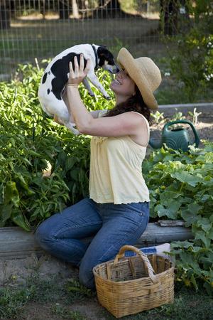 Organic Vegetable Home Garden LANG_EVOIMAGES