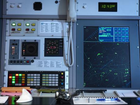pcs: Radar desk in control room