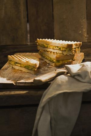 bathtowel: Zucchini omelett sandwich LANG_EVOIMAGES