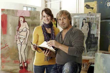 human likeness: Artist teaching assistant