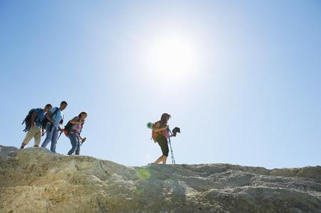pursuing: Hiking