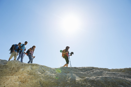 pursued: Hiking