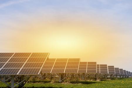 Large solar energy plant LANG_EVOIMAGES