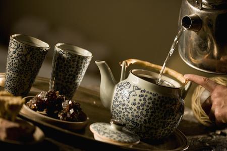 appendages: Preparing tea