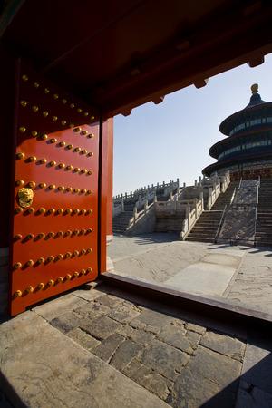 histories: Door of ornate Oriental style building