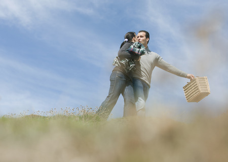 smooching: Couple in love