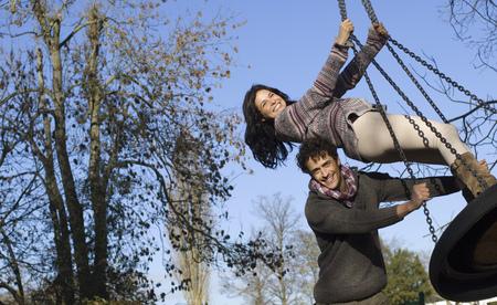 propel: Couple on swing